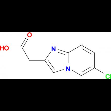 (6-Chloroimidazo[1,2-a]pyridin-2-yl)acetic acid