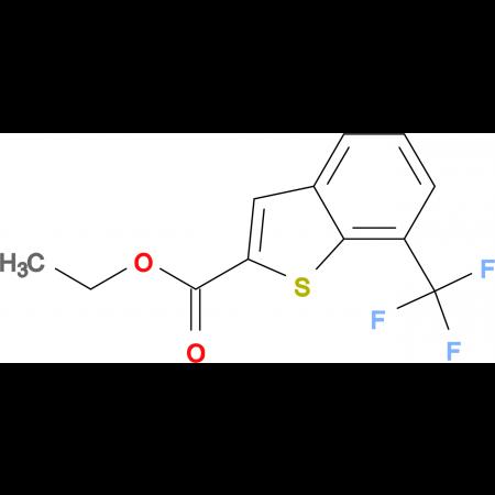 Ethyl 7-(Trifluoromethyl)-1-benzothiophene-2-carboxylate