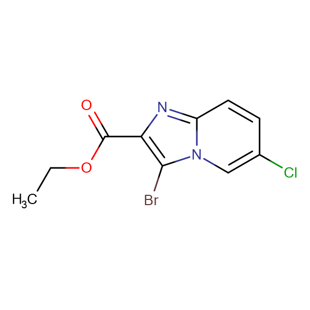 Ethyl 3-Bromo-6-chloroimidazo[1,2-a]pyridine-2-carboxylate