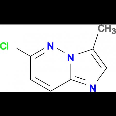 6-Chloro-3-methylimidazo[1,2-b]pyridazine