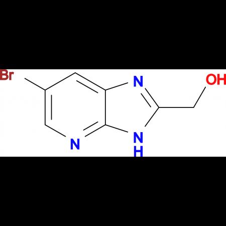 (6-Bromo-3H-imidazo[4,5-b]pyridin-2-yl)methanol