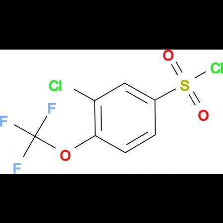 3-Chloro-4-(trifluoromethoxy)benzenesulfonyl chloride