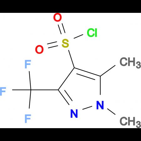 1,5-Dimethyl-3-(trifluoromethyl)-1H-pyrazole-4-sulfonyl chloride