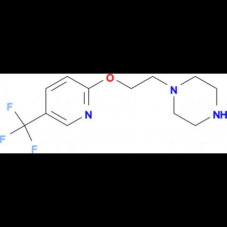 1-(2-{[5-(Trifluoromethyl)pyridin-2-yl]oxy}ethyl)piperazine