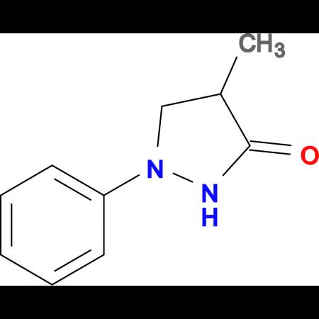 4-Methyl-1-phenylpyrazolidin-3-one