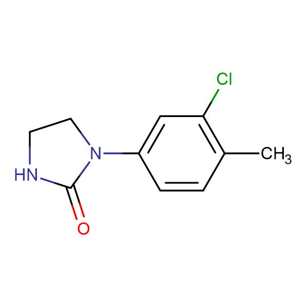 1-(3-Chloro-4-methylphenyl)imidazolidin-2-one