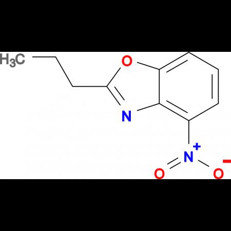 4-Nitro-2-propyl-1,3-benzoxazole