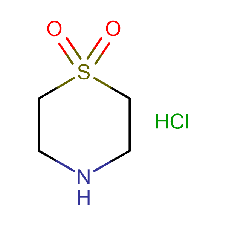 Thiomorpholine 1,1-dioxide hydrochloride