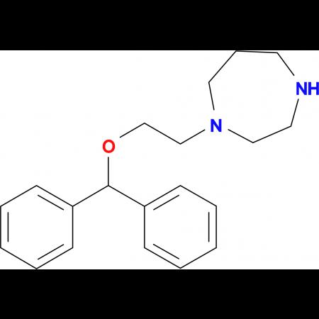 1-[2-(Benzhydryloxy)ethyl]-1,4-diazepane