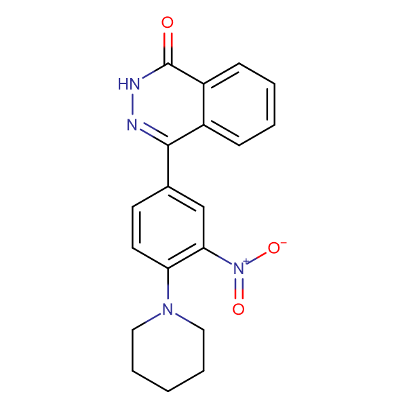 4-(3-Nitro-4-piperidin-1-ylphenyl)phthalazin-1(2H)-one