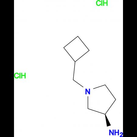 (R)-1-(Cyclobutylmethyl)pyrrolidin-3-amine dihydrochloride