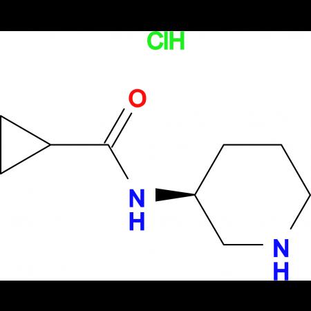(S)-N-(Piperidin-3-yl)cyclopropanecarboxamide hydrochloride