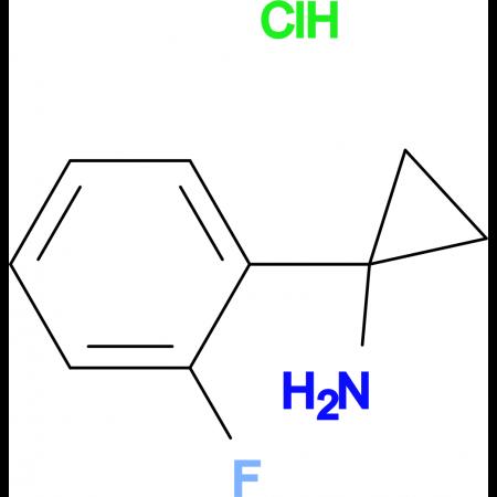 1-(2-Fluorophenyl)cyclopropan-1-amine hydrochloride