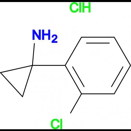 1-(2-Chlorophenyl)cyclopropan-1-amine hydrochloride