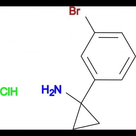1-(3-Bromophenyl)cyclopropan-1-amine hydrochloride