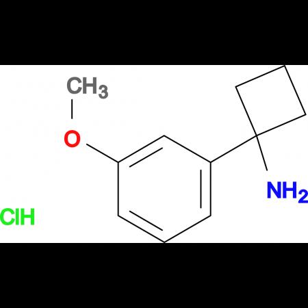 1-(3-Methoxyphenyl)cyclobutan-1-amine hydrochloride