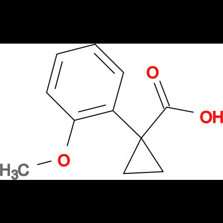 1-(2-Methoxyphenyl)cyclopropane-1-carboxylic acid