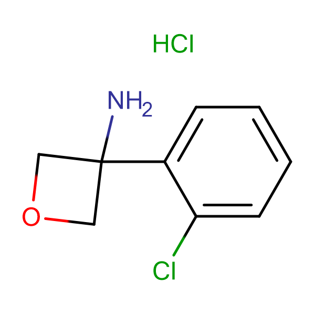 3-(2-Chlorophenyl)oxetan-3-amine hydrochloride