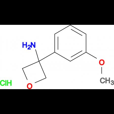 3-(3-Methoxyphenyl)oxetan-3-amine hydrochloride