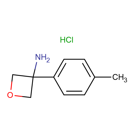 3-p-Tolyloxetan-3-amine hydrochloride