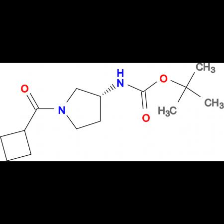 (R)-tert-Butyl 1-(cyclobutanecarbonyl)pyrrolidin-3-ylcarbamate