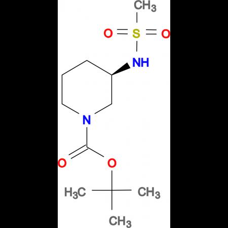 (R)-tert-Butyl 3-(methylsulfonamido)piperidine-1-carboxylate