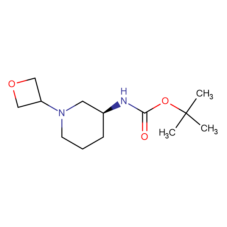 (S)-tert-Butyl 1-(oxetan-3-yl)piperidin-3-ylcarbamate