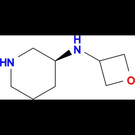 (3S)-N-(Oxetan-3-yl)piperidin-3-amine