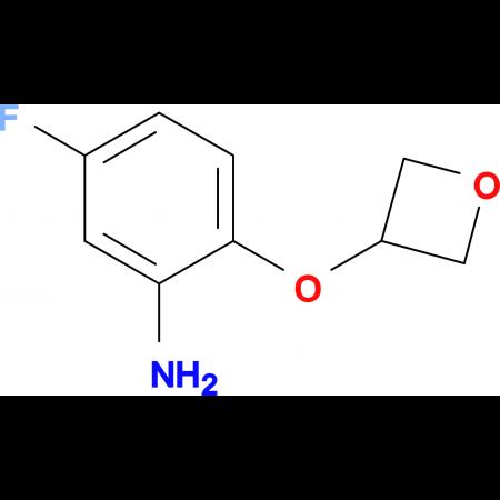 5-Fluoro-2-(oxetan-3-yloxy)aniline