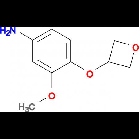 3-Methoxy-4-(oxetan-3-yloxy)aniline