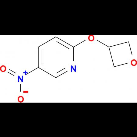 5-Nitro-2-(oxetan-3yloxy)pyridine