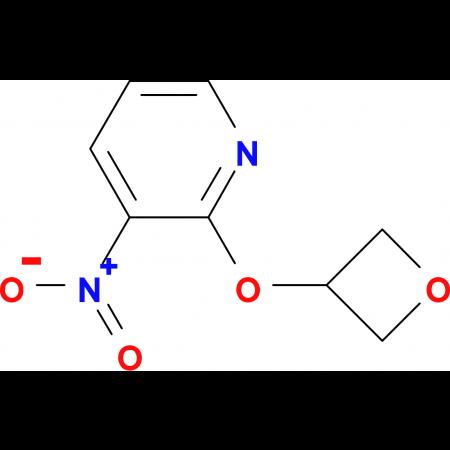 3-Nitro-2-(oxetan-3-yloxy)pyridine