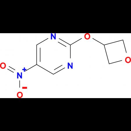 5-Nitro-2-(oxetan-3-yloxy)pyrimidine