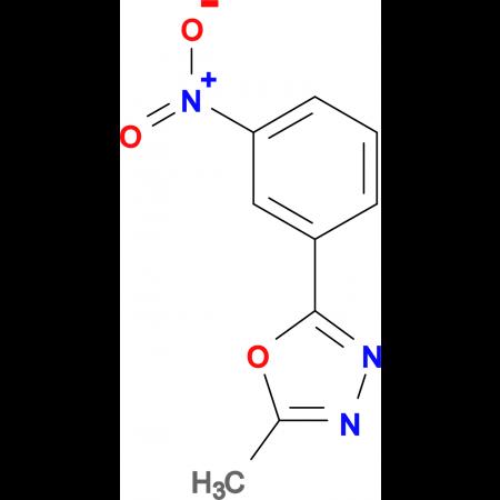 2-Methyl-5-(3-nitro-phenyl)-[1,3,4]oxadiazole