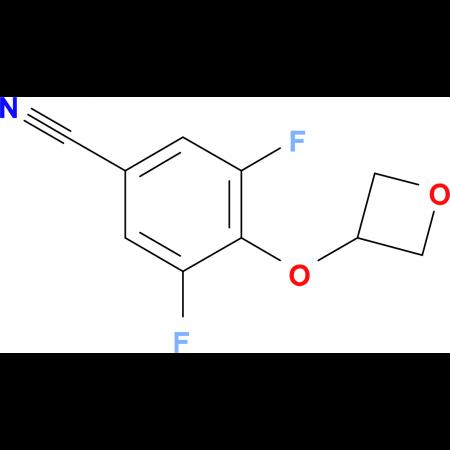 3,5-Difluoro-4-(oxetan-3-yloxy)benzonitrile
