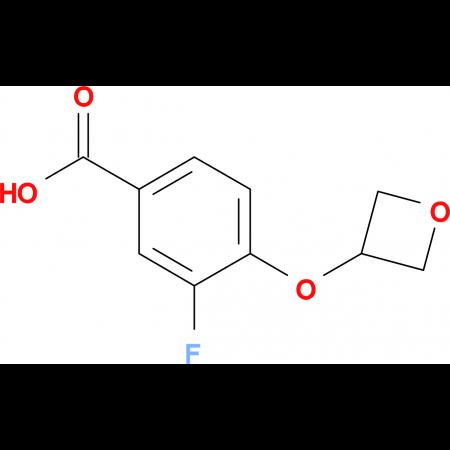 3-Fluoro-4-(oxetan-3-yloxy)benzoic acid