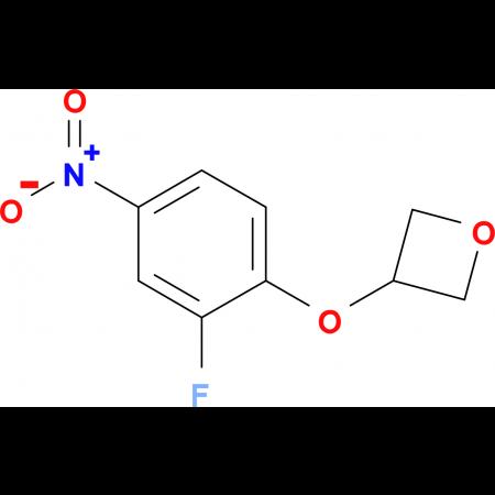 3-(2-Fluoro-4-nitrophenoxy)oxetane