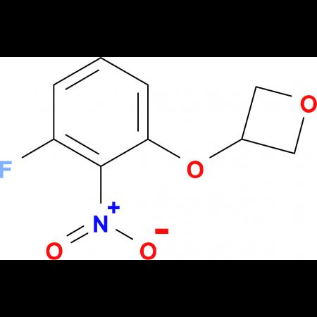 3-(3-Fluoro-2-nitrophenoxy)oxetane