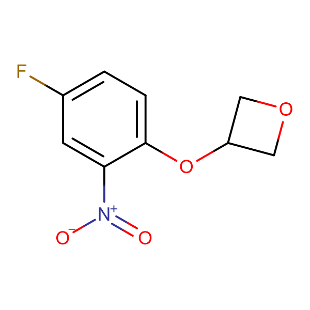 3-(4-Fluoro-2-nitrophenoxy)oxetane
