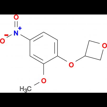 3-(2-Methoxy-4-nitrophenoxy)oxetane