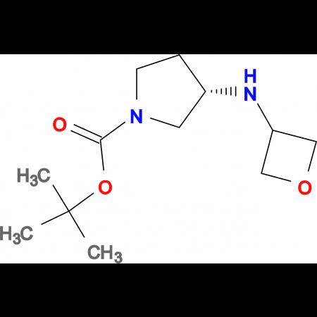 (S)-tert-Butyl 3-(oxetan-3-ylamino)pyrrolidine-1-carboxylate