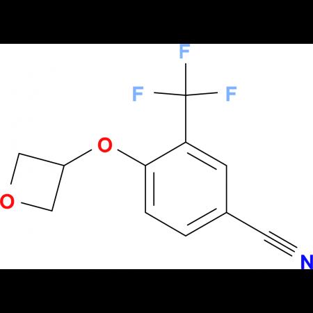 4-(Oxetan-3-yloxy)-3-trifluoromethylbenzonitrile