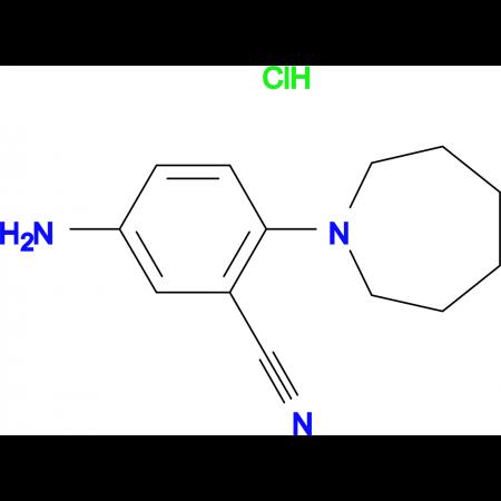 5-Amino-2-azepan-1-ylbenzonitrile hydrochloride