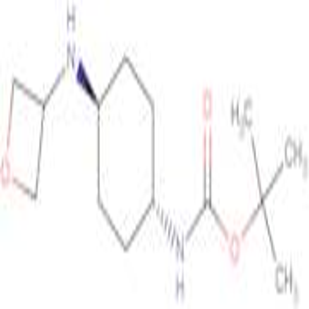 tert-Butyl (1R*,4R*)-4-oxetan-3-ylamino)-cyclohexylcarbamate