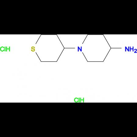 1-(tetrahydro-2H-thiopyran-4-yl)-4-piperidinamine dihydrochloride hydrate
