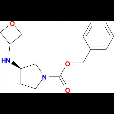 Benzyl (3R)-3-(oxetan-3-yl)amino)pyrrolidine-1-carboxylate