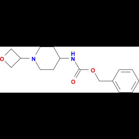 Benzyl 1-(oxetan-3-yl)piperidin-4-yl carbamate