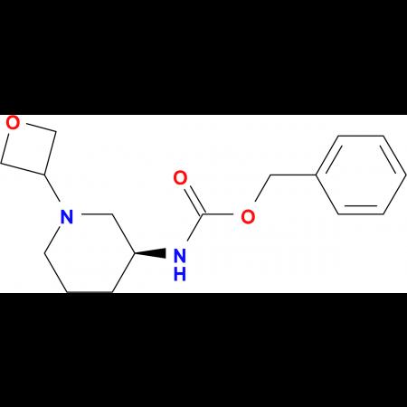 (S)-Benzyl 1-(oxetan-3-yl)piperidin-3-ylcarbamate