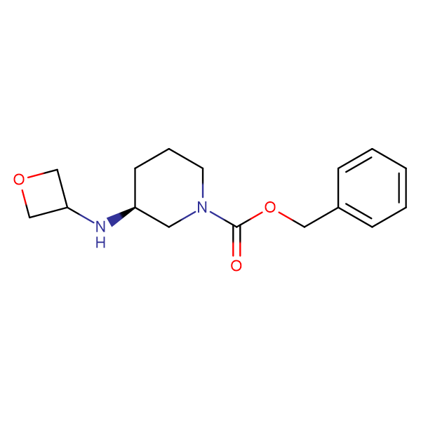 (S)-Benzyl 3-(oxetan-3-ylamino)piperidine-1-carboxylate