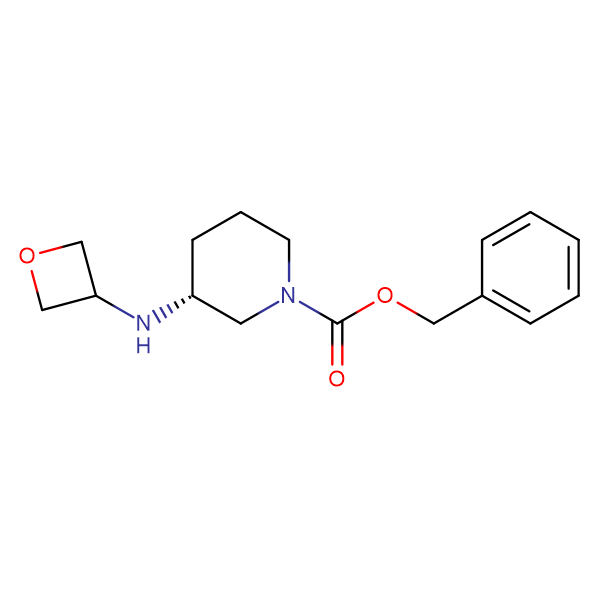 (R)-Benzyl 3-(oxetan-3-ylamino)piperidine-1-carboxylate